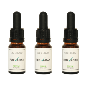 Provacan CBD Eliquid with Cannabis Terpenes Pk3