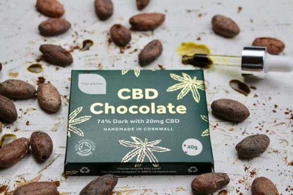 CBD Dark Chocolate Bars
